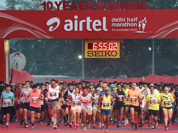Airtel Delhi Half Marathon 2017