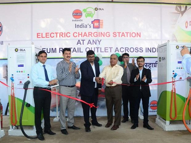 IOC, Indian Oil, electric vehicle charging station