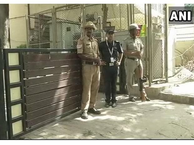 Bengaluru: Security heightened outside residence of Deepika Padukone in the wake of controversy over her film #Padmavati