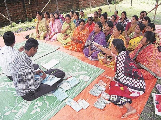 villagers, accounts, micro-finance
