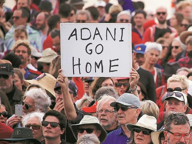 Adani's coal mine project, protests against Adani coal mine