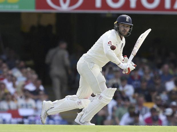 Brisbane : England's Mark Stoneman plays a shot during the Ashes cricket test between England and Australia in Brisbane, Australia. (Photo: AP/PTI)