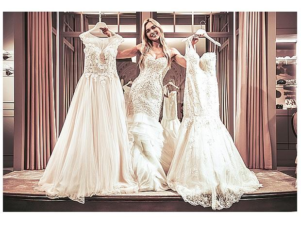 In one of Nichols' 'running of the brides' studies, the shoppers revealed how they hoarded as many dresses as possible, and negotiated trades with other shopping teams in which they misrepresented the value of the gown they gave away