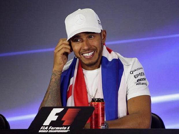 Lewis Hamilton wrapped up the title at  last month's Mexican Grand Prix. Photo: Reuters