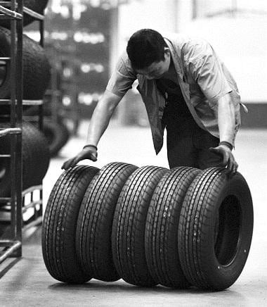 Tyre exports, tyre