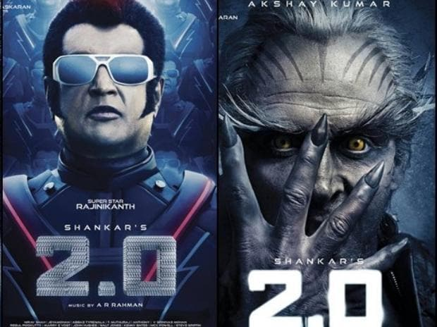 Rajinikanth's 2.0, Rajinikanth, movie, movie poster