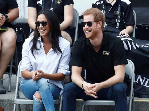 Prince Harry with actress Meghan Merkle