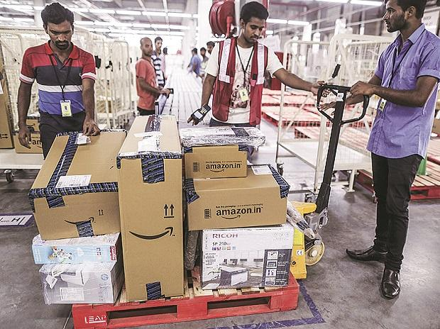 Amazon set up India's biggest fulfilment centre, spread over 400,000 sq ft with close to 2.1 million cubic feet of storage space, in Hyderabad some six months ago
