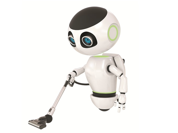 Floor cleaning is just the start; the firm sees robots in the near future helping with security patrols and personal mobility