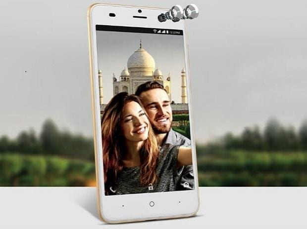 Intex ELYT Dual with dual front cameras launched at Rs. 6999