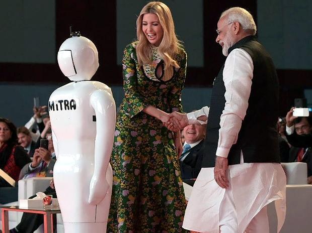 Narendra Modi, Ivanka Trump, GES 2017, GES
