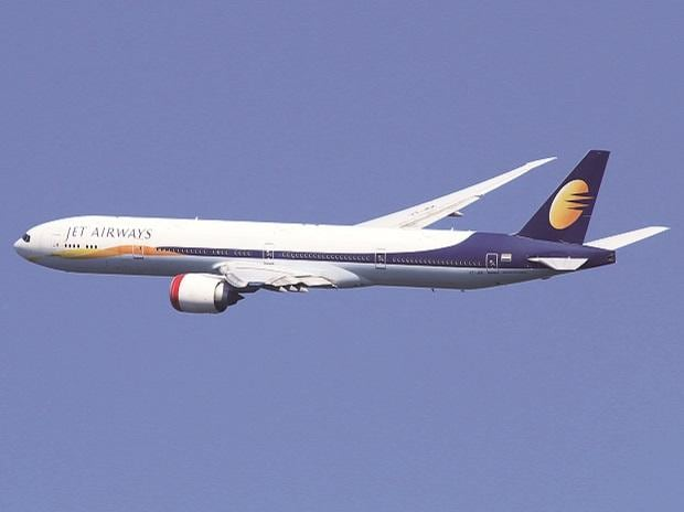 JetAirways, aeroplane