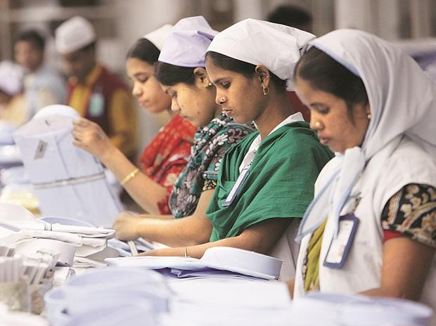 After the revision in GST rates, textiles saw a downward rate of 12 per cent to five per cent on job work of zari/embroidery and from 18 per cent to 12% on synthetic yarn