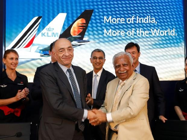 India's Jet Airways in revenue pact with Air France-KLM