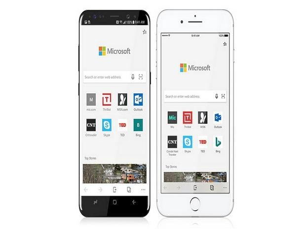 Microsoft Edge goes out of preview on iOS and Android