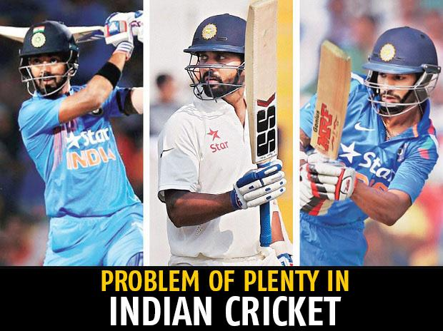 Shikhar Dhawan, K L Rahul, Murali Vijay, cricketers