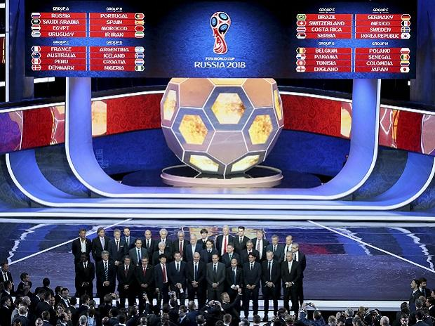 The coaches of the qualified teams pose for a group photo at the end of the 2018 soccer World Cup draw in the Kremlin in Moscow, Friday, Dec. 1, 2017.AP/PTI