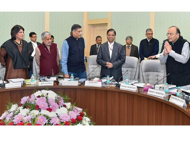 Union Minister for Finance and Corporate Affairs, Arun Jaitley chairing the 3rd meeting of Pre-Budget Consultative Committee with stakeholders groups from Industry and Trade in connection with the forthcoming Union Budget 2018-19. Photo: PTI