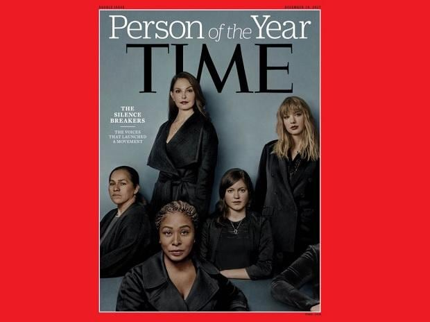 Time names sexual abuse 'Silence Breakers' #MeToo as Person of the year