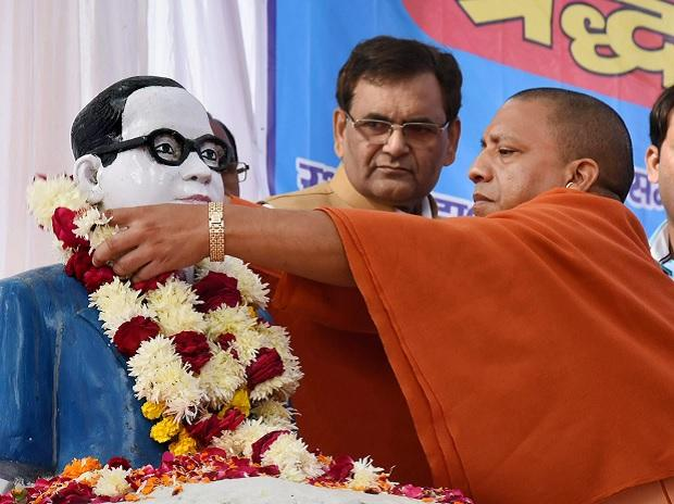 Ambedkar statue vandalised in UP, Yogi asks authorities to ensure securities