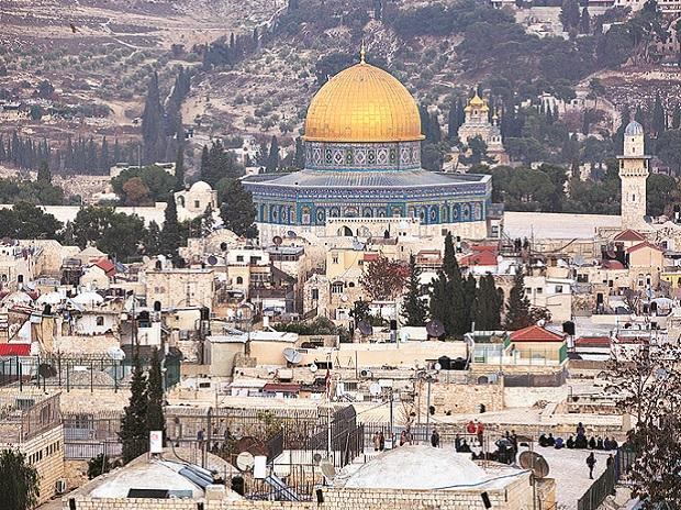 A view of Jerusalem's old city is seen on Tuesday.  	photo: pti