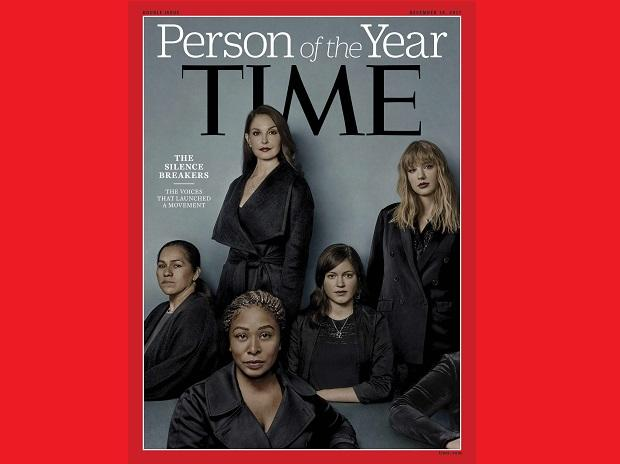 This image provided by Time magazine, shows the cover of the magazine's Person of the Year edition as