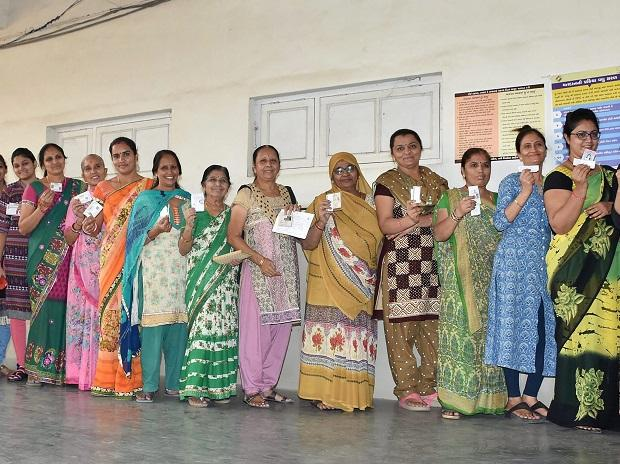 Gujarat elections, women in elections, elections, vote, women voting