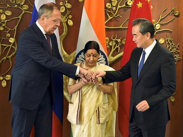 Russia, India, China call for global action against terrorism