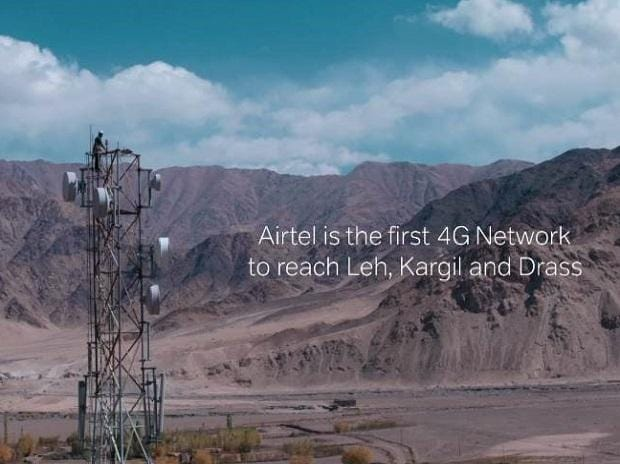 Airtel launches 4G Network in Leh, Kargil and Drass