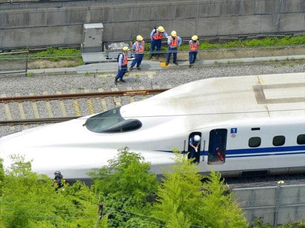 Crack found in Shinkansen in 1st serious incident for Japan's bullet train