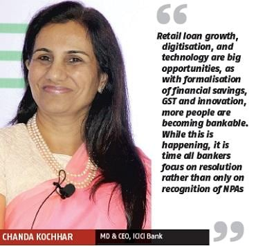 Chanda Kochhar, MD & CEO, ICICI Bank