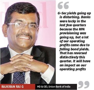 Rajkiran Rai G, MD & CEO, Union Bank of India