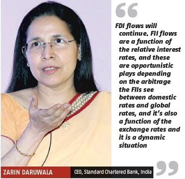 Zarin Daruwala, CEO, Standard Chartered Bank, India