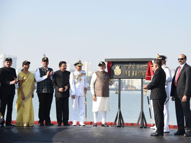 PM commissions India's 1st indigenously-built Scorpene submarine