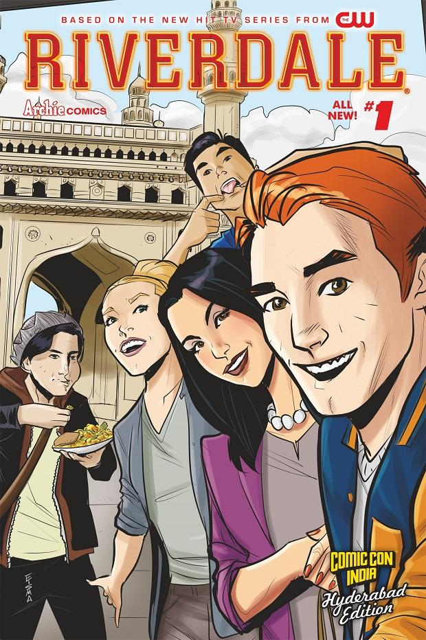 Comic Con India: Travel-weary but alive, Archie is back in the country