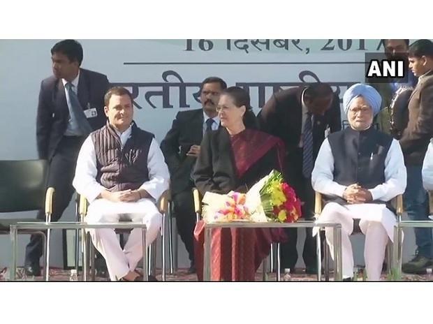 Rahul Gandhi takes over as Congress President