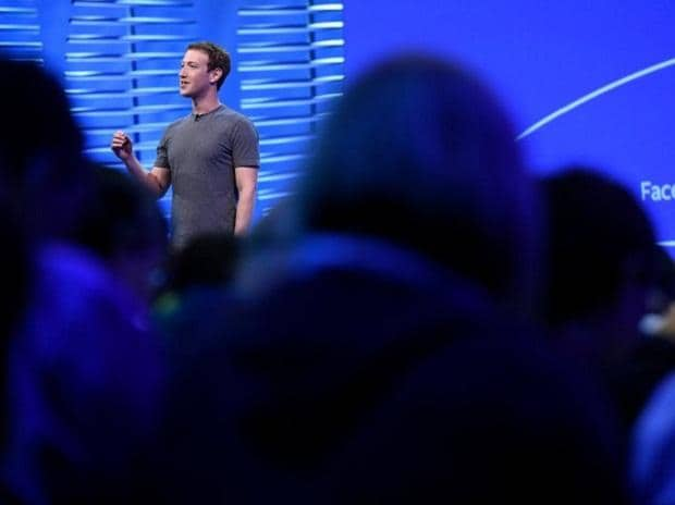 A file photo of Facebook Chairman and CEO Mark Zuckerberg. Photo: Bloomberg