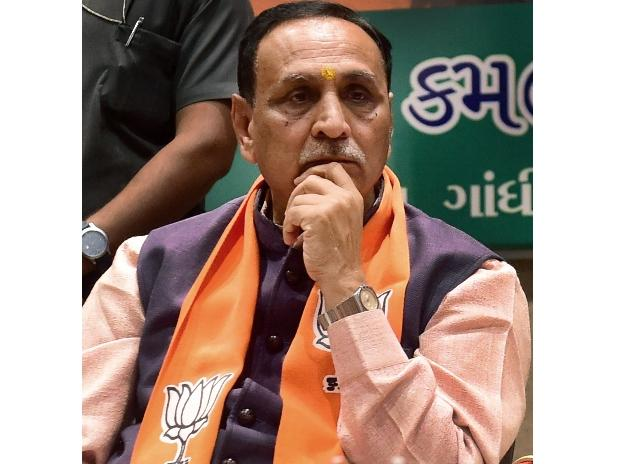 Vijay Rupani, Gujarat CM,Gujarat CM Rupani, Gujarat chief minister, Rupani, Gujarat poll results, Gujarat election results, Bharatiya Janata Party, BJP, Rashtriya Swayamsevak Sangh, RSS, Gujarat