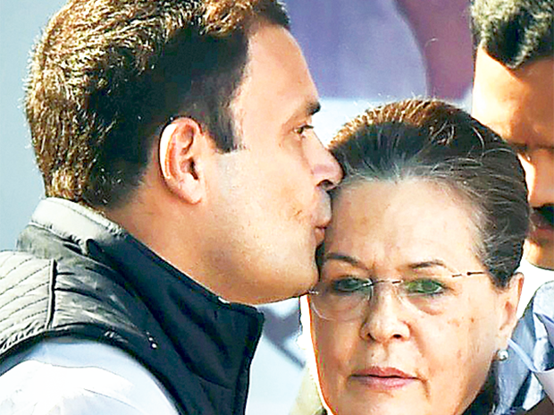 Rahul Gandhi recently replaced his mother as president of the Congress party