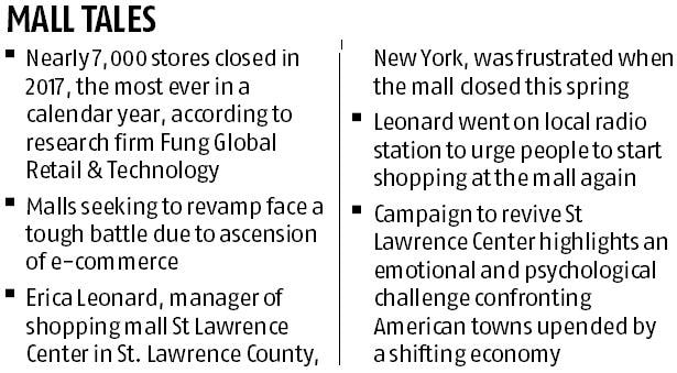 Town fights to turn retail tide at a little mall