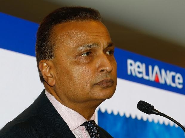Anil Ambani, Chairman of India's Reliance Communication, addresses a news conference at the company's headquarters in Mumbai | Photo: Reuters