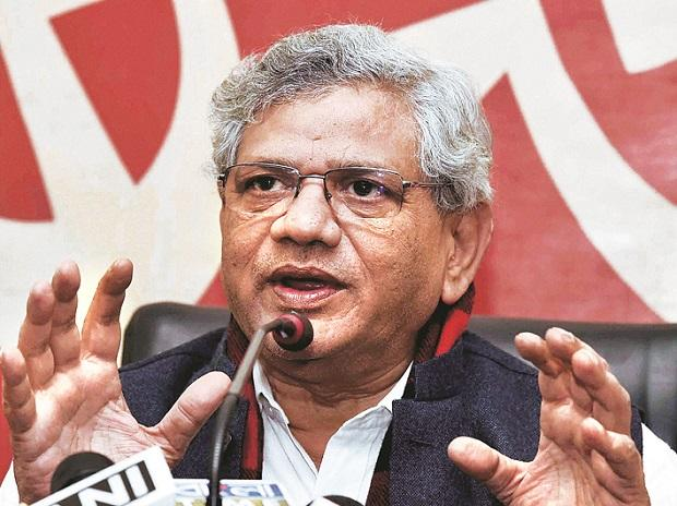 Yechury rules out pact with 'corruption-tainted' Lalu in 2019 LS polls