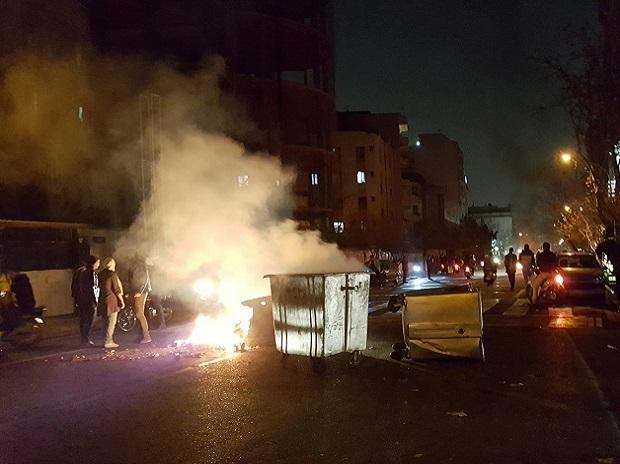 Anti-government protests spread across Iran, as 52 arrested