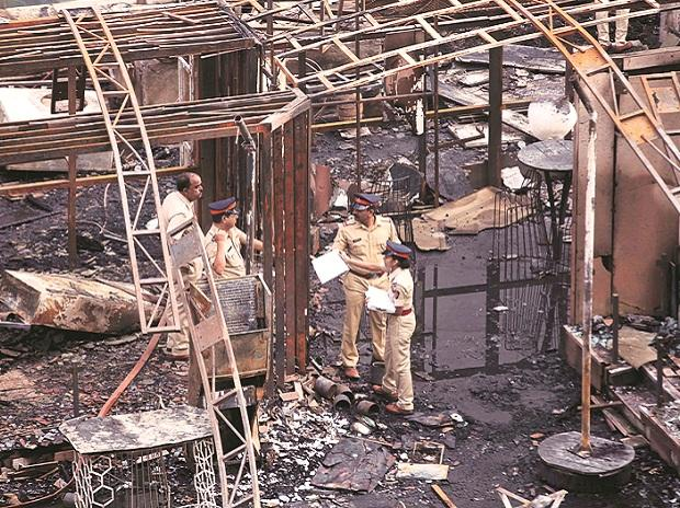 Kamala Mill, kamla mills, lower parel, fire, Mumbai