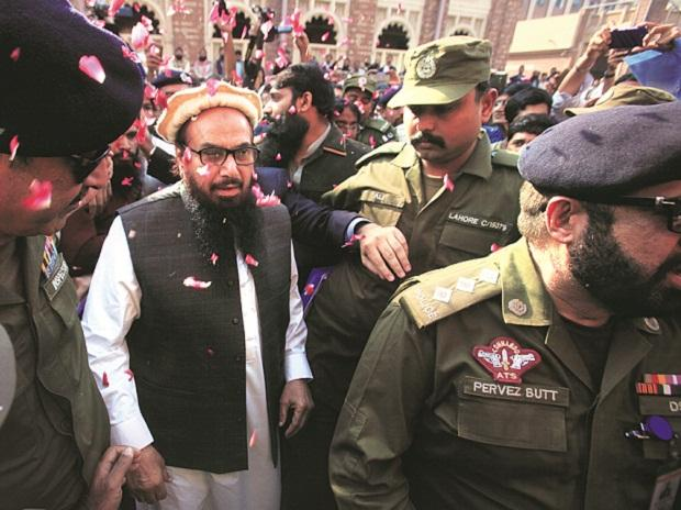 India hails United States move on Hafiz political party