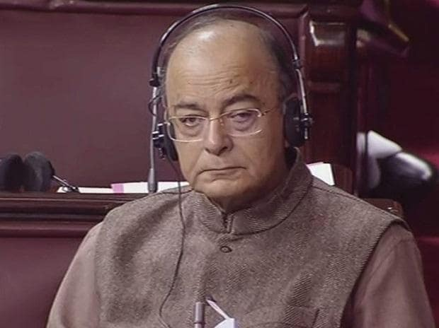 Arun Jaitley in RS