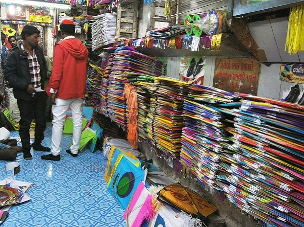 GST woes: Come Uttarayan, fewer kites to flank Allahabad skies
