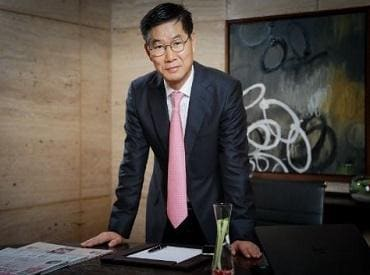 Kookhyun Shim, MD and CEO of Kia Motors India. Photo: @odmag twitter handle