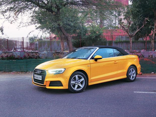 The Eye Catcher Driving The Audi A3 Cabriolet Is A Thrilling