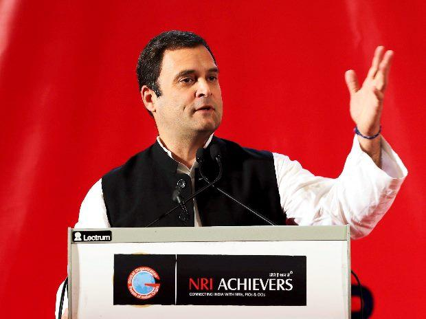 Rahul Gandhi describes GDP as Narendra Modi's Gross Divisive Politics